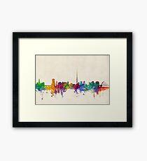 Dublin Ireland Skyline Cityscape Framed Print