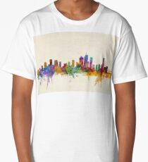 Brisbane Australia Skyline Cityscape Long T-Shirt