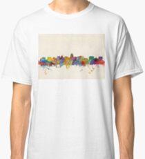 Madison Wisconsin Skyline Cityscape Classic T-Shirt