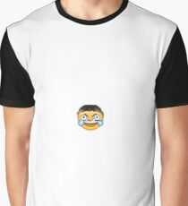 Funny Laughing Crying Face Emoji Meme Graphic T-Shirt