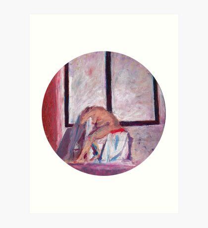 Round Window #1 Art Print
