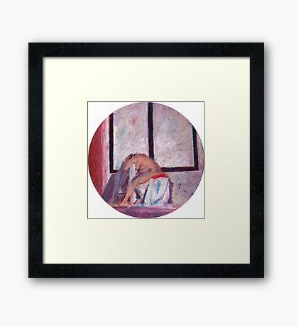Round Window #1 Framed Print