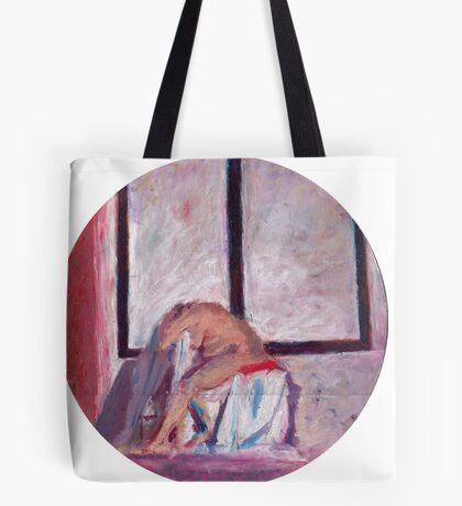 Round Window #1 Tote Bag