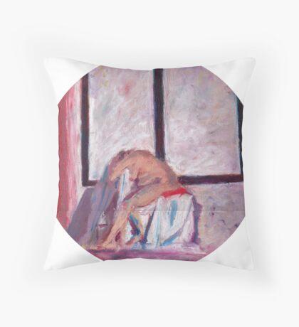 Round Window #1 Throw Pillow