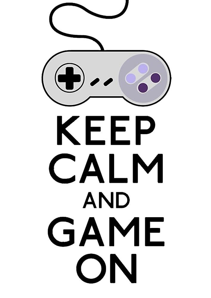 «conserve la calma y a jugar» de Tappina95