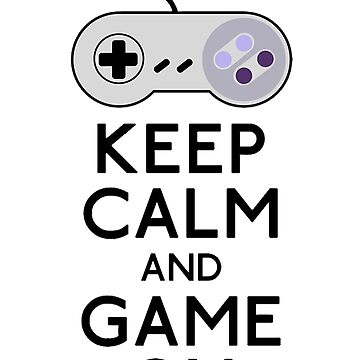 keep calm and game on by Tappina95