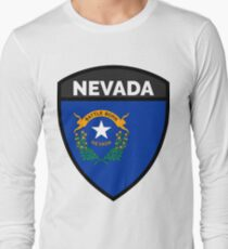 NEVADA BADGE II Long Sleeve T-Shirt