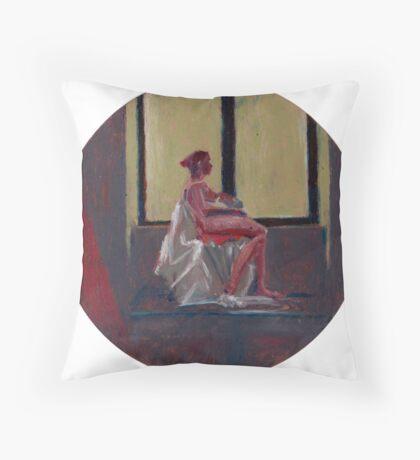 Round Window #2 Throw Pillow