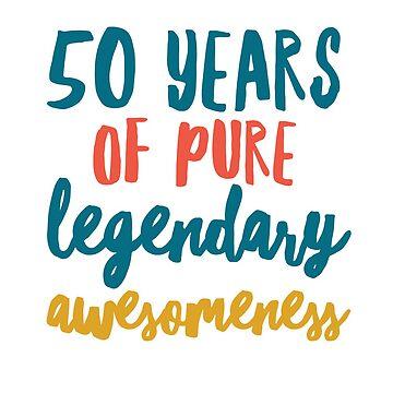 50th Birthday gift  by Amisdelamer