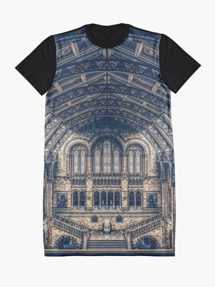 Alternate view of Architectural Reflections Graphic T-Shirt Dress