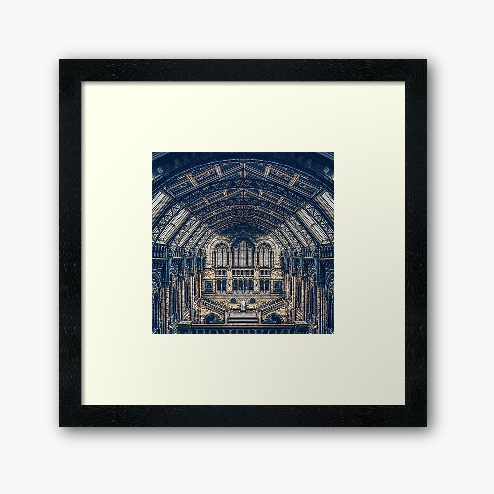 Architectural Reflections Framed Art Print