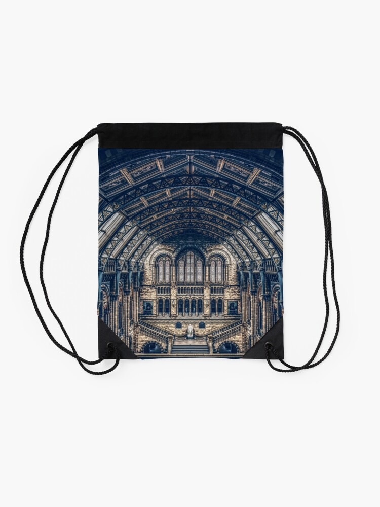Alternate view of Architectural Reflections Drawstring Bag