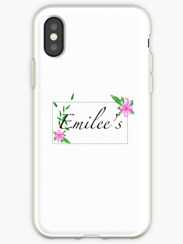 iphone xs personalised name case