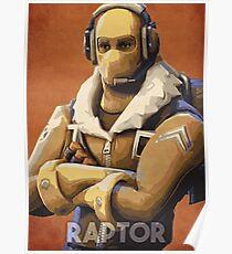 Póster Raptor