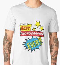 The best photographer ever, #photographer  Men's Premium T-Shirt