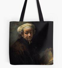Self Portrait as the Apostle Paul - Rembrandt Harmenszoon van Rijn Tote Bag