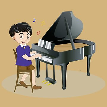 Piano fun for children by PaulCopeland