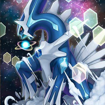Dialga Pokémon Diamante, Dialga Pokémon Diamond by SrWhitePS