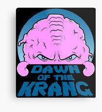 Dawn of the Krang Metal Print