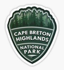 Cape Breton Highlands National Park Simple Sticker