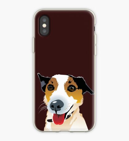 Brock Puppy Mutt Foxy Cross iPhone Case