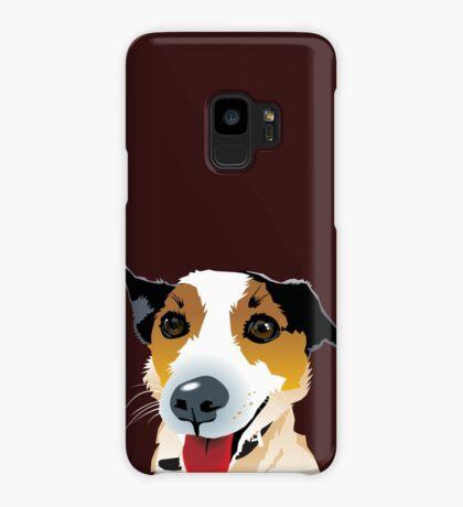 Brock Puppy Mutt Foxy Cross Case/Skin for Samsung Galaxy