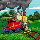 All Aboard Totoro Express! by jupejuperocket