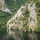 Rough Marble Cliffs  by Georgia Mizuleva