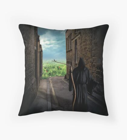 Spring is a coming Throw Pillow