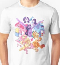 My Little Pony transparent print T-Shirt