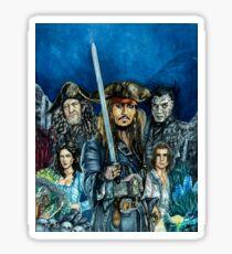 Pirates of the Caribbean- Salazar's revenge Sticker