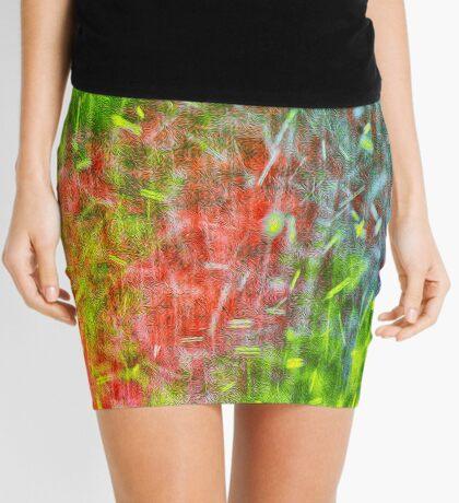 Hot Summer Rain Mini Skirt