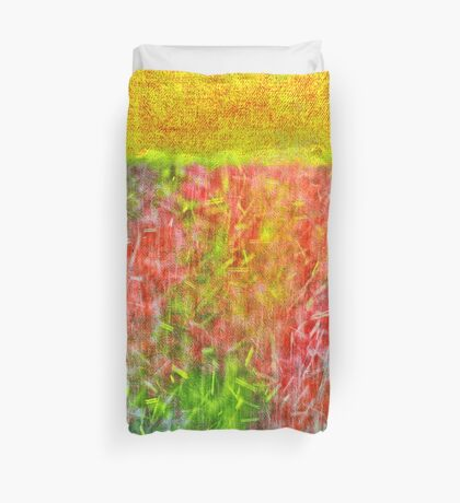 Hot Summer Rain Duvet Cover