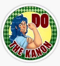 Do the Kanon Sticker