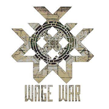 Wage War band logo by RedWineBubble