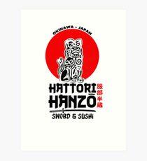 Hattori Hanzo Art Print