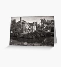 Groombridge Place, Groombridge, Kent, England Greeting Card