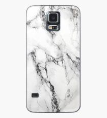 Marmor Hülle & Klebefolie für Samsung Galaxy