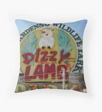 Dizzy Lamb, Wanneroo Throw Pillow