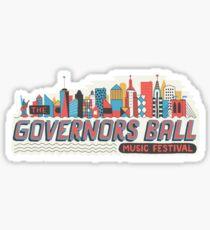 governors ball Sticker