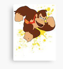 Donkey Kong (DK) - Super Smash Bros Canvas Print