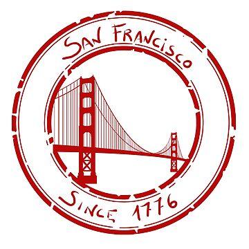 San Francisco by Kiukai-Furutsu