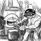 Steam engine cleaner by Woodie