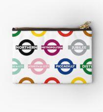 London Underground Signs Design Studio Pouch