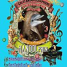 Georg Friedrich Handolphin Music Animal Pun Parody Handel Dolphin by AnimalComposers