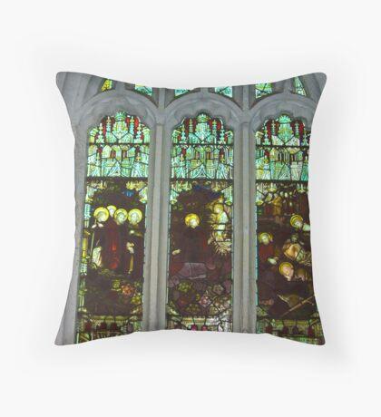 Window #3  St Peter's Church Throw Pillow