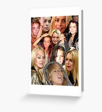 Fucked up Lindsay is the best Lindsay Greeting Card