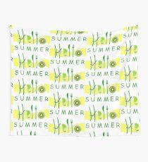 HOLA¡ verano Wall Tapestry