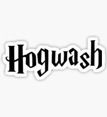 Hogwash the best wizarding school in the world Sticker