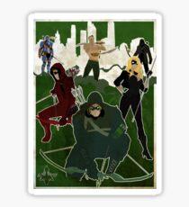 The Arrow ! Sticker